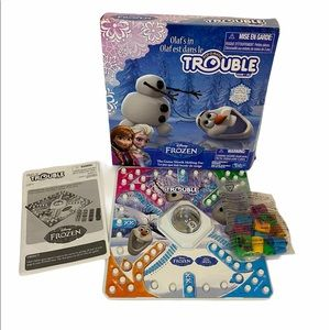 Hasbro Olaf's In Trouble. Pop-o-matic Game.Frozen